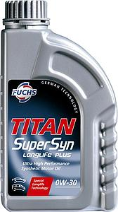 Engine Oil Titan SuperSyn  Longlife Plus 0W30, 1L