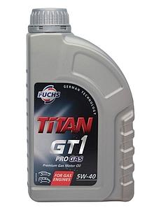 Engine Oil Titan GT1 Pro Gas 5W40, 1L