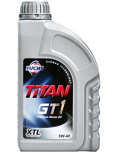 Engine Oil Titan GT1 5W40, 1L