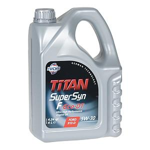 Engine Oil Titan SuperSyn F Eco-DT 5W30, 4L