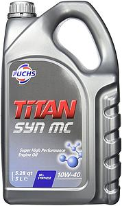 Engine Oil Titan Syn MC 10W40, 5L