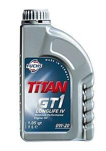 Engine Oil Titan GT1  Longlife IV 0W20, 1L